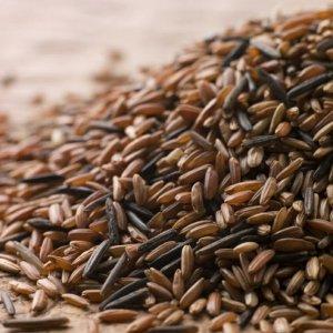 Бурый рис белок