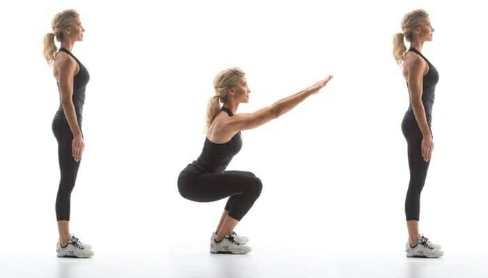 Упражнения для бедер и ягодиц подтягивающие