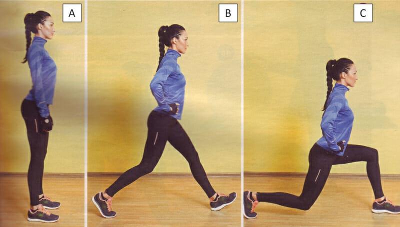 Упражнения от галифе на бедрах дома